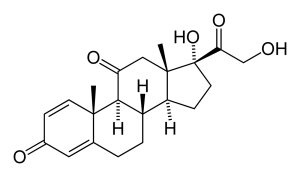 Prednisone-2D-skeletal