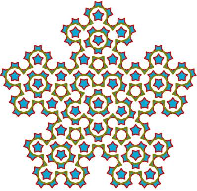(d) Quasi-crystaline take-over