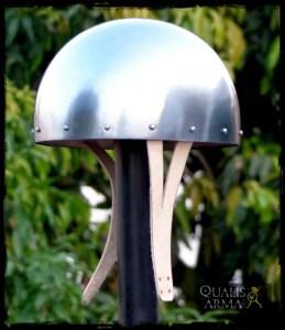 Cervelière casque médiéval