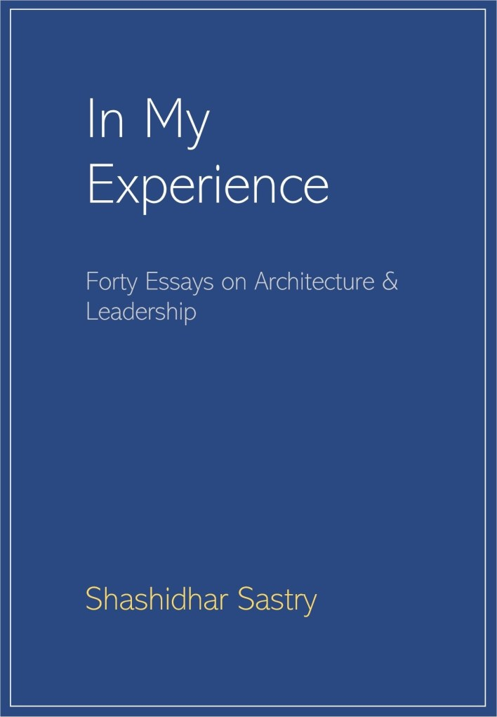 My Books: In My Experience