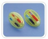 Pin etichete antifurt detasabile cu cerneala INK PIN-1 pentru porti antifurt