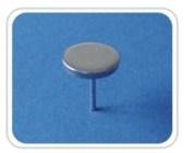 Pin etichete antifurt detasabile PIN-01 pentru porti antifurt