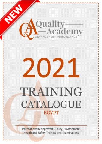 2021 Training Catalogue