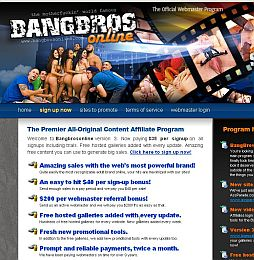 BangBros Online Adult Affiliate Program