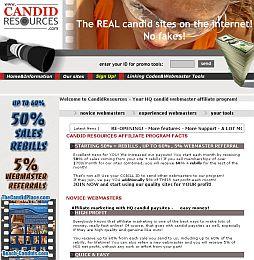 CandidResources Adult Affiliate Program