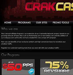 CrakCash Adult Affiliate Program
