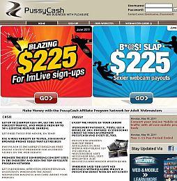PussyCash Adult Affiliate Program