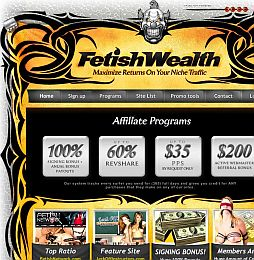 Fetish Wealth Adult Affiliate Program