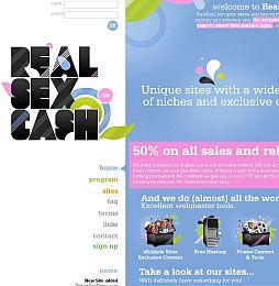 RealSexCash Adult Affiliate Program