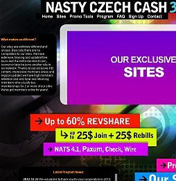 Nasty Czech Cash Adult Affiliate Program