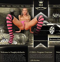 NaughtySlutBucks Adult Affiliate Program