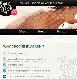 Evacash Adult Affiliate Program