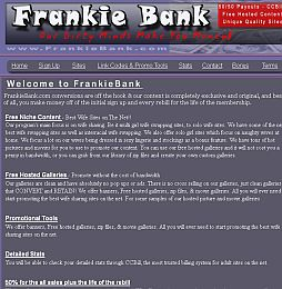 FrankieBank Adult Affiliate Program