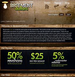BasementDollars Adult Affiliate Program