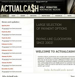 ActualCash Adult Affiliate Program