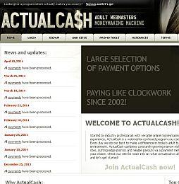 ActualCash Adult Affiliate Program