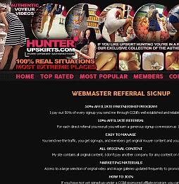 Hunter Upskirts Adult Affiliate Program