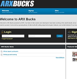 ARX Bucks Adult Affiliate Program Review