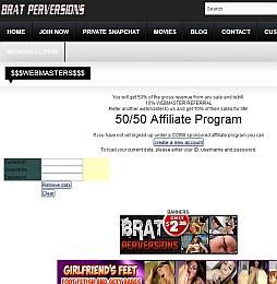 Brat Perversions Adult Affiliate Program Review