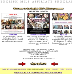 ENGLISH MILF Adult Affiliate Program