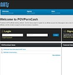POVPornCash Adult Affiliate Program