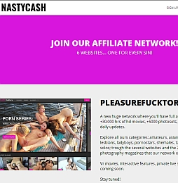 Nastycash Adult Affiliate Program