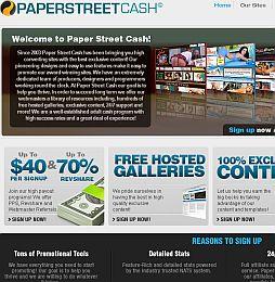 PaperStreetCash Adult Affiliate Program