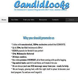 CandidLooks Adult Affiliate Program