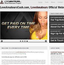 LoveAmateursCash Adult Affiliate Program