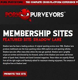 Porn Purveyors Adult Affiliate Program
