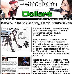 Femdom Dollars Adult Affiliate Program