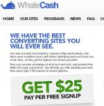 Whale Cash Adult Affiliate Program