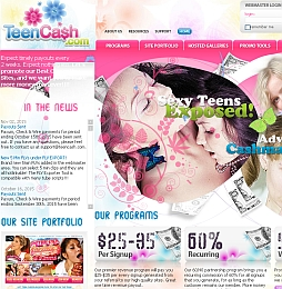 Teen Cash - Top converting teen niche sites and exclusive reality content