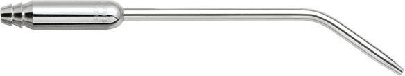 Surgical aspirator made of 3/16