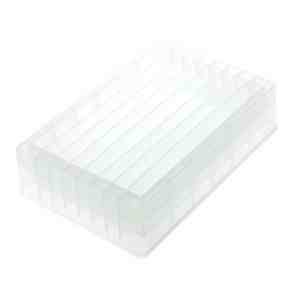 CELLTREAT Multiple Cavity Reagent Reservoir, 8-Well, Trough Bottom, Polypropylene, Sterile