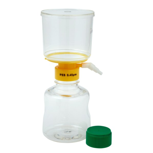 CELLTREAT 500ml filter system with 0.45μm PES filter
