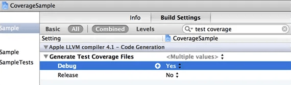 Generate Test Coverage Files