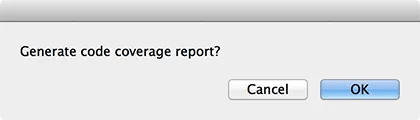 Generate code coverage report?