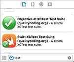 XCTest templates