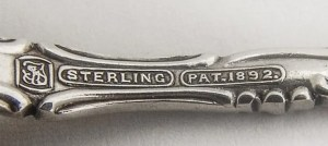 sterling spoon hallmark, sterling silver, sterling silver hallmark, silver buyer, sell silver, New Port Richey, Tampa, Florida,