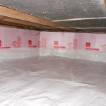 Quality Foundation Repair - Crawl Space Vapor Barrier / Finished