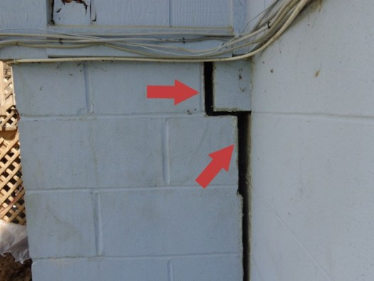 Quality foundation Repair - Sinking Foundation in Omaha