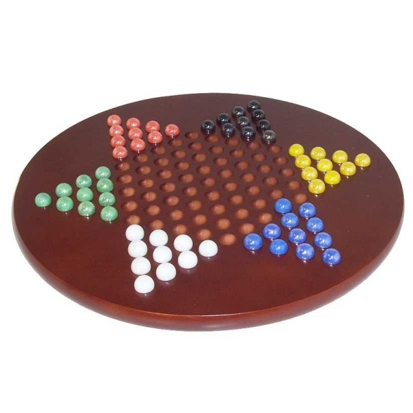 Large Chinese Checkers Set Strategy Game | Quality Games TX