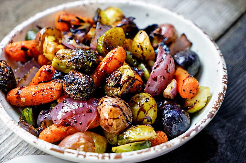 Roasted Root Vegetables With Fennel