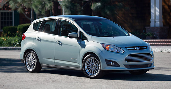 FORD C-MAX HYBRID NAMED IIHS TOP SAFETY PICK
