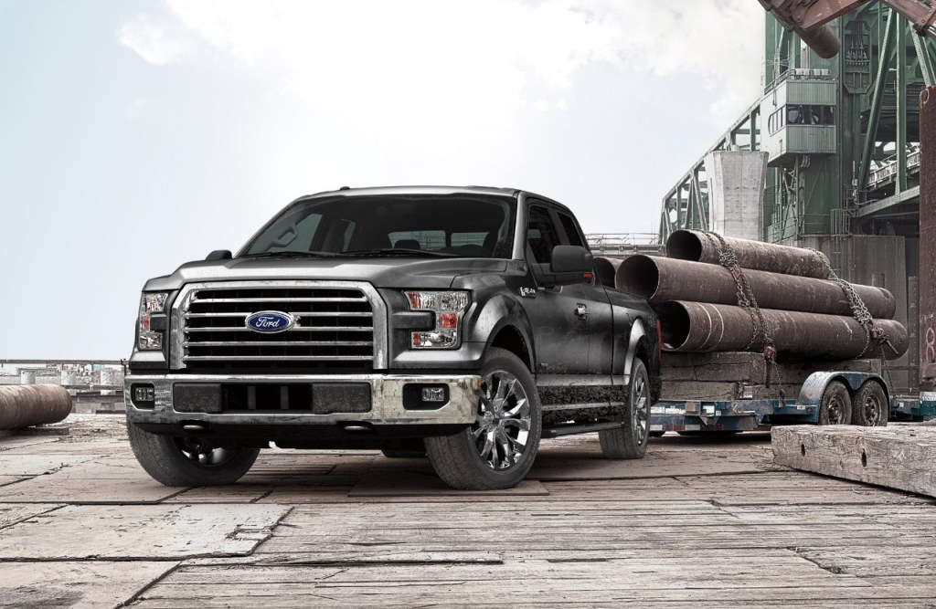 ALL-NEW FORD F-150 NAMED NORTH AMERICAN TRUCK/UTILITY OF THE YEAR