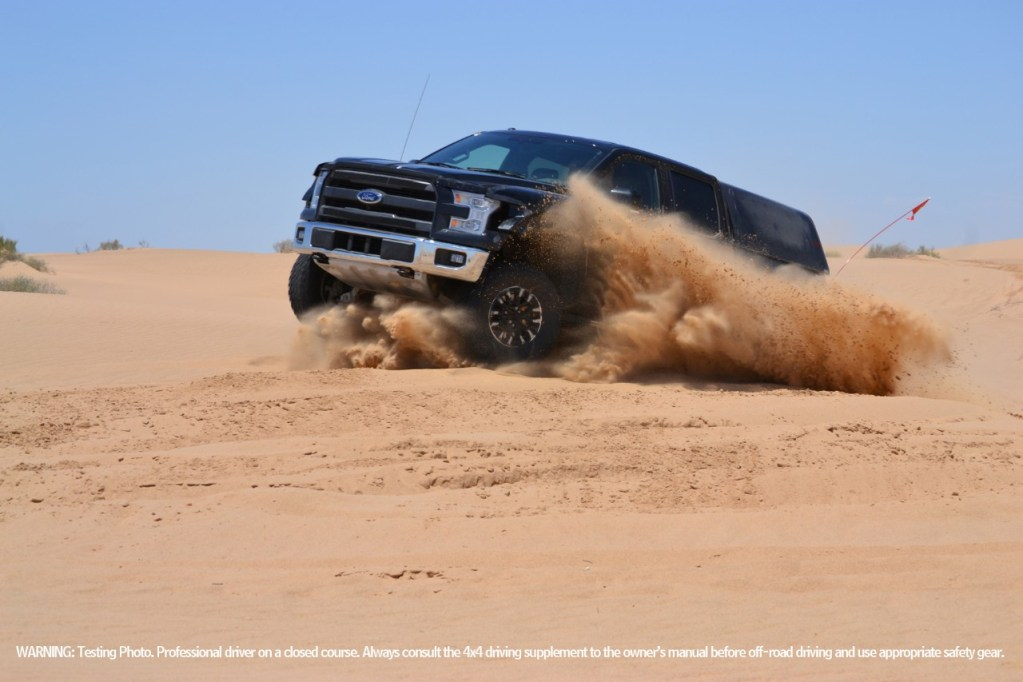 NEW F-150 RAPTOR WRAPS UP INITIAL DESERT DURABILITY TESTING