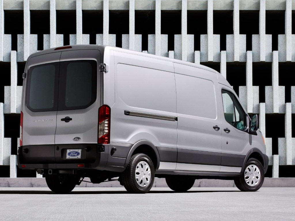 America's Businesses Turn to Ford Vans as Economy Grows; Ford Vans Are Top Sellers in 47 States