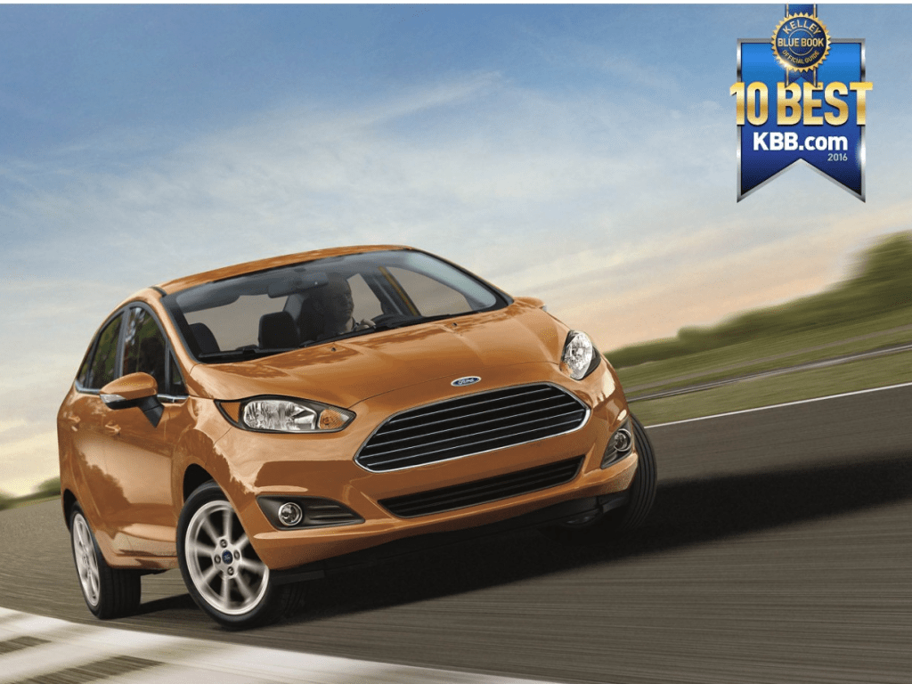 Kelley Blue Book Names Ford Fiesta Best Back-to-School Car