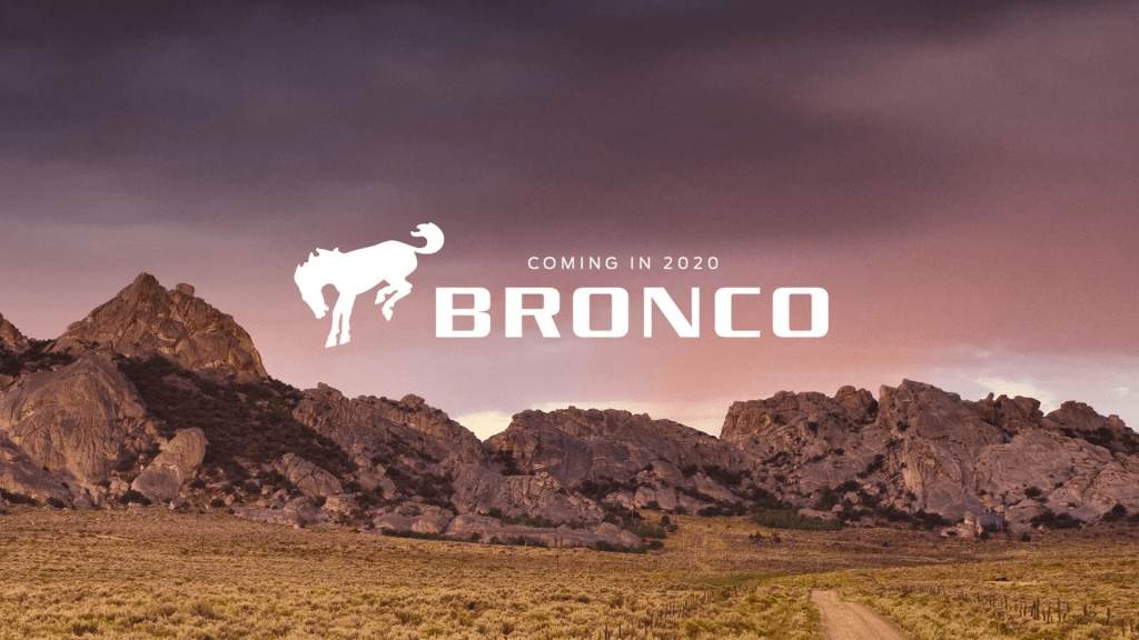 The 2020 Ford Bronco: Back and Smarter Than Ever